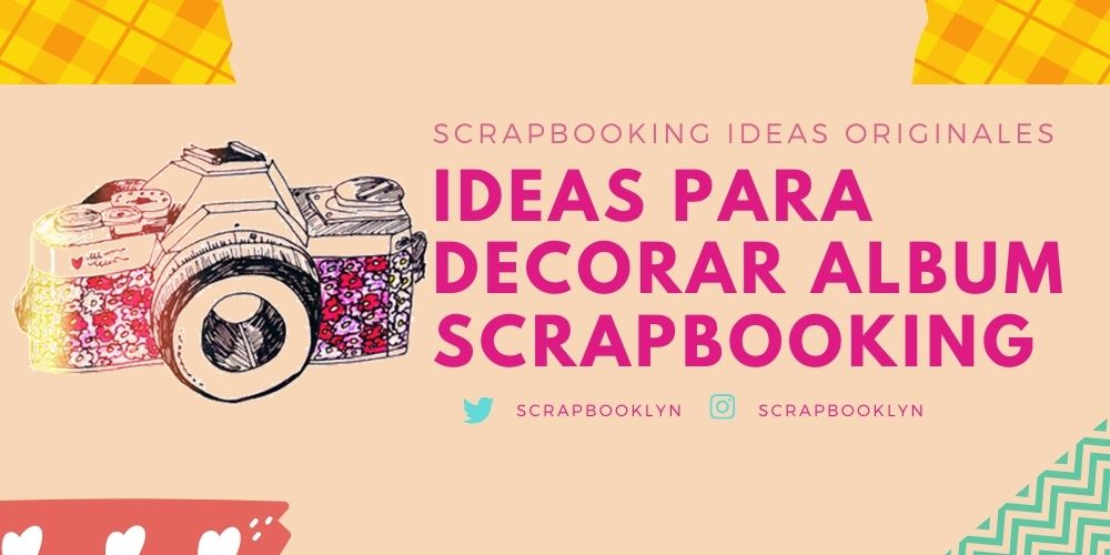 ideas para decorar album scrapbooking